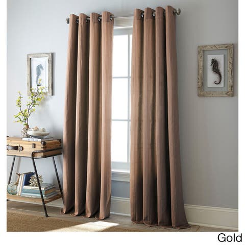 Grand Avenue Angelina Grommet-Top Curtain Panel