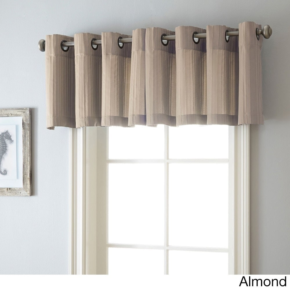 Nanshing Armant 54 x 18-inch Grommet-top Curtain Valance ...