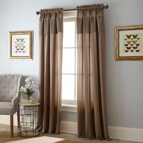 Grand Avenue Luna Rod Pocket Curtain Panel