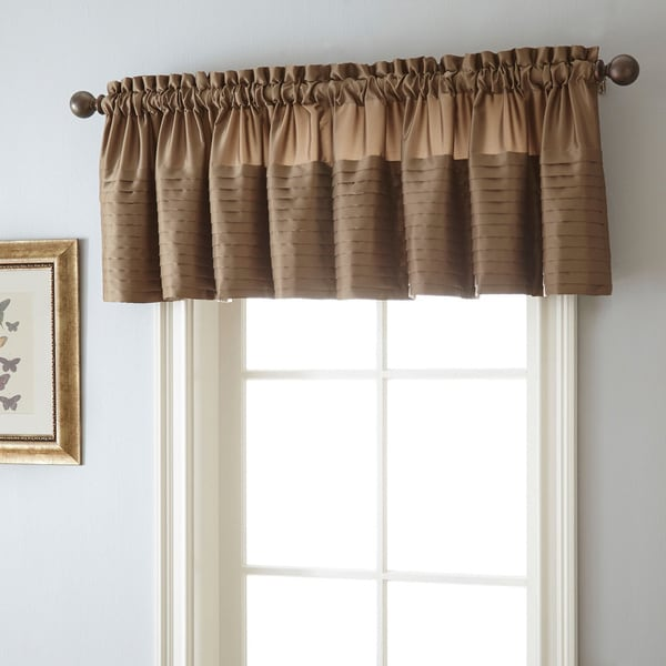 Landford 50 X 18 Inch Rod Pocket Curtain Valance Free Shipping On Orders Over 45 Overstock