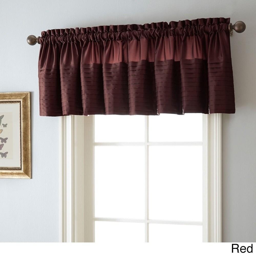 Nanshing Landford 50 x 18-inch Rod-pocket Curtain Valance...