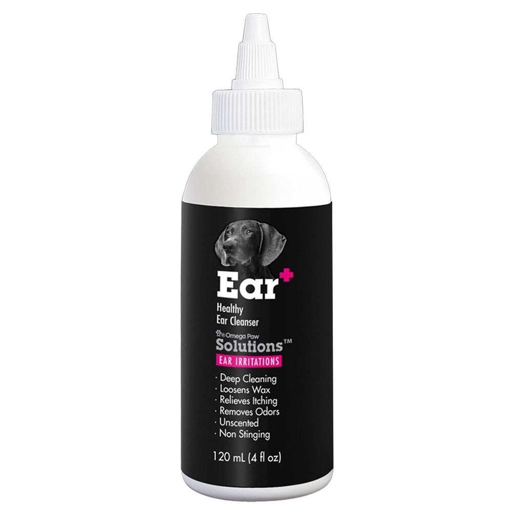 Omega Paw Solutions Ear+ Ear Irritations for Dogs (4 oz B...