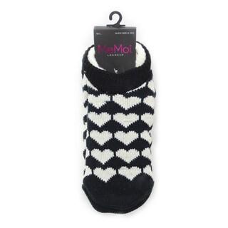 Memoi Women's Heart Cozy Lined Booties