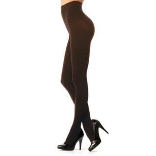Memoi Women's Perfectly Opaque Control Top Tights