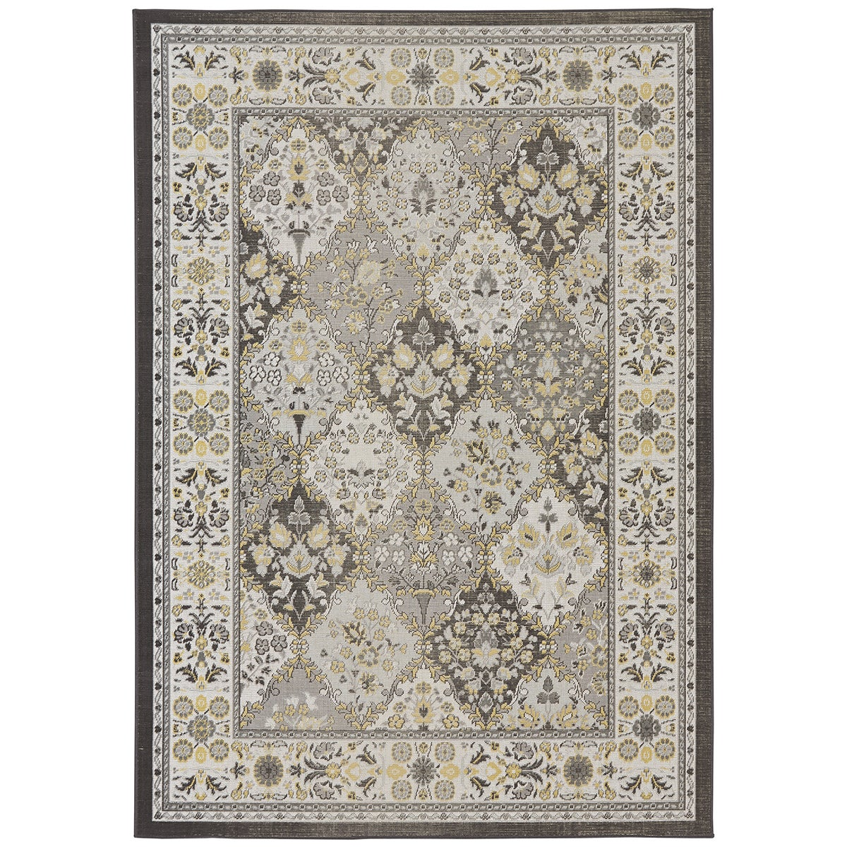 Grand Bazaar Zero Pile Seymour Area Rug in Lemon (10' x 1...