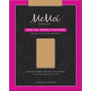 Memoi Women's Sheer Full Support