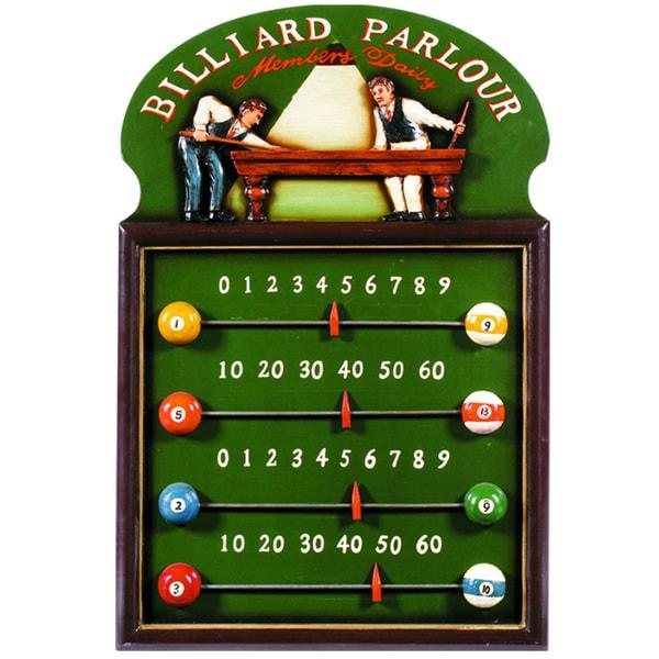RAM Game Room Billiard Parlour Sliding Tab Scoreboard