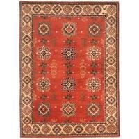 ecarpetgallery Finest Kargahi Brown Wool Rug