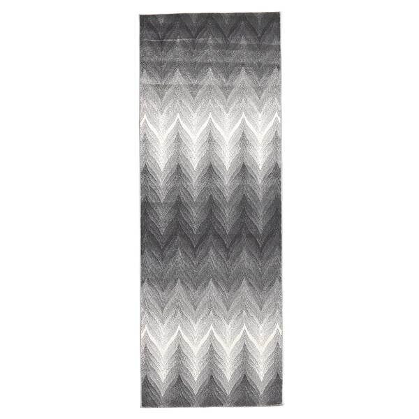 "Grand Bazaar Milania Ash Runner/ Tread - 2'10"" x 7'10"""