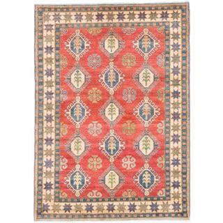 ecarpetgallery Finest Gazni Red Wool Rug (5'9 x 8)