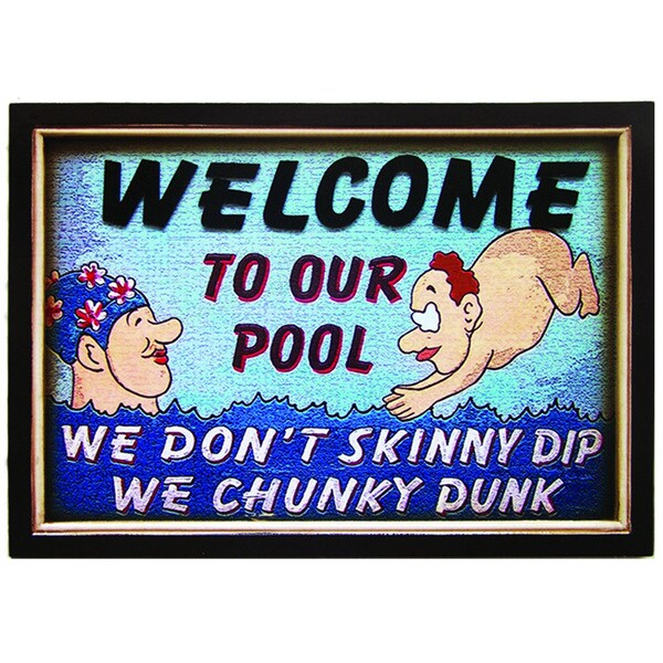 Ram Game Room Chunky Dunk Hanging Outdoor Wall Decor