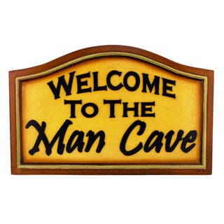 Shop Ram Game Room Welcome To The Man Cave Hanging Wall