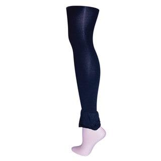 Memoi Women's Bell'leg Footless Tights