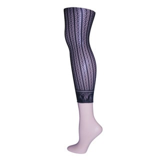 Memoi Women's Linear Footless Net