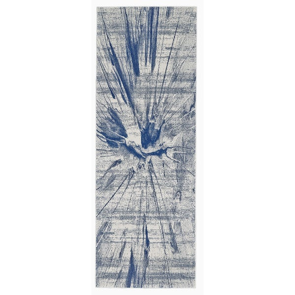 "Grand Bazaar Omari Cobalt Runner/ Tread - 2'10"" x 7'10"""