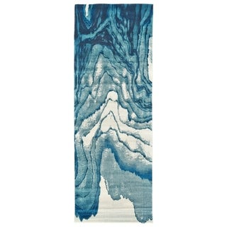 "Grand Bazaar Omari Atlantic Runner/ Tread (2'10"" x 7'10"") - 2'10 x 7'10"
