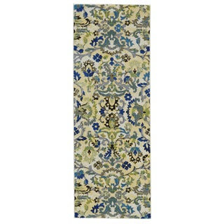 Grand Bazaar Omari Grove Power-loomed Runner Rug (2'10 x 7'10) - 3' x 8'