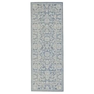Grand Bazaar Okara Denim Power-loomed Runner Rug (2'10 x 7'10)