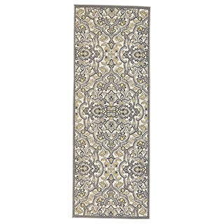 Grand Bazaar Okara Power-loomed Oriental Runner Rug (2'10 x 7'10)