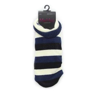 Memoi Women's StripeTone Cozy Lined Booties