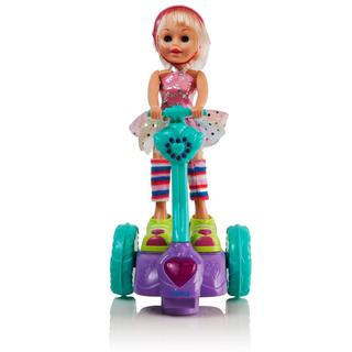 The Dimple Collection Tina Doll with Motorized Musical Segway DC11637