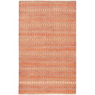 ecarpetgallery Finest Ziegler Chobi Beige Wool Rug (4'10 x 8)