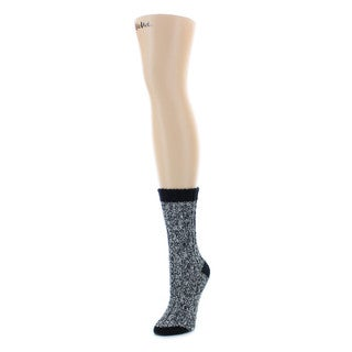 Memoi Women's Ribmix Boot Sock