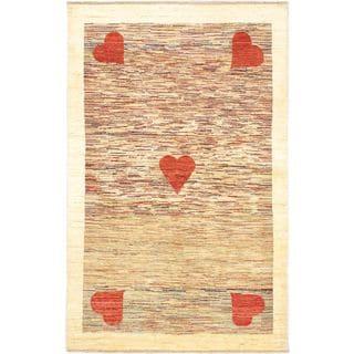 ecarpetgallery Finest Ziegler Chobi Beige Wool Rug (4'5 x 7)