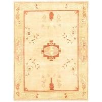 ecarpetgallery Chobi Beige Wool Rug - 5'11 x 7'10