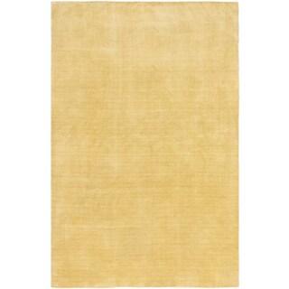 ecarpetgallery Luribaft Gabbeh Riz Green Wool Rug (5'1 x 7'10)
