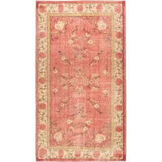 ecarpetgallery Anatolian Sunwash Brown Wool Rug (4 x 7'1)
