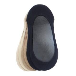 Memoi Women's Ballerina Micro Liner (Pack of 6)