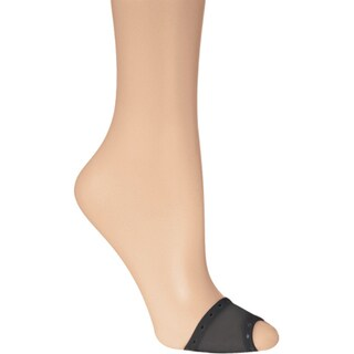 Memoi Women's Sheer Open Toe Cover
