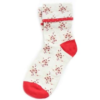 Memoi Women's Vintage Floral Anklet