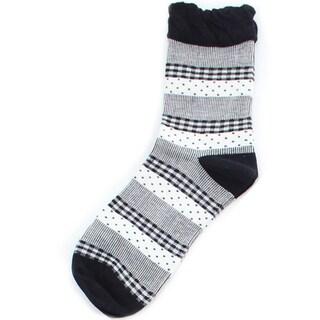 Memoi Women's Pattern Mix Anklet