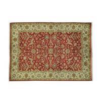 Tabriz Revival 300 KPSI Handmade Wool Oriental Rug - 4'3 x 5'10