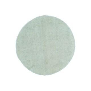 Peshawar Round Zeigler Mahal Hand-knotted Wool Rug (6'1 x 6'1)