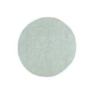 Hand-knotted Round Peshawar Ziegler Mahal Oriental Rug (5'1 x 5'1)