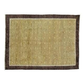 Modern Gabbeh Wool Hand-knotted Oriental Rug (5'6 x 7'5)
