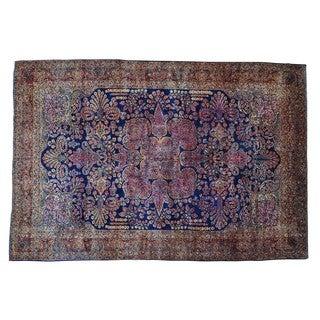 Antique Persian Mohajeran Sarouk Oversize Rug (12' x 17'8)