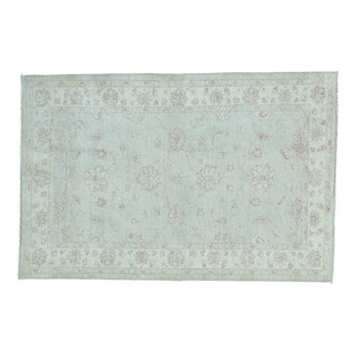 Oushak Wool Hand-knotted Oriental Rug (5'2 x 7'10)