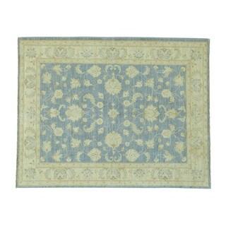 Oushak with Ziegler Mahal Design Handmade Wool Rug (5'1 x 6'5)
