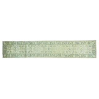 Wool Xl Oushak Hand-knotted Oriental Runner Rug (2'6 x 13'10)