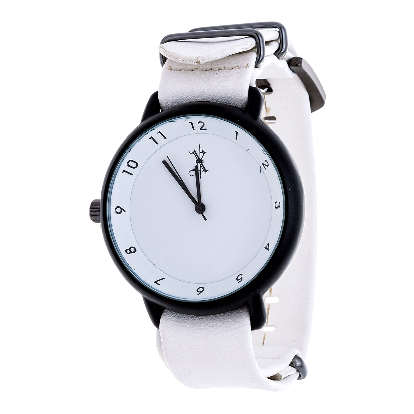 XTREME Brooklyn Exchange Men's Black Case and White Dial ...