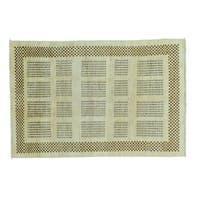 Handmade Natural Dyes Modern Gabbeh Wool Oriental Rug (4' x 6')