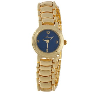 Via Nova Women's Gold Case and Strap Watch