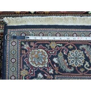 Bidjar Mahi Wool and Silk Hand-knotted Oriental Rug (5' x 7'4)
