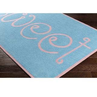 Hand Tufted Coe Poly Acrylic Rug (2' x 3')