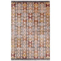 Hand Knotted Englandsong Viscose from Bamboo/Wool Area Rug - 9' x 13'