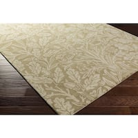 Hand Tufted England London Wool - New Zealand Area Rug - 8' x 11'